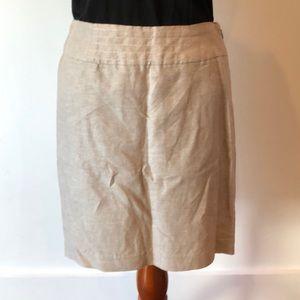 Summer linen and cotton skirt